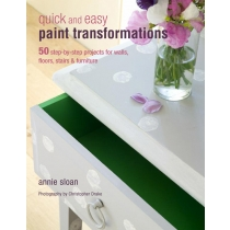 Raamat QUICK AND EASY PAINT TRANSFORMATIONS