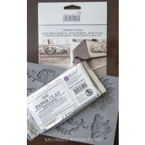 Voolimismass - pabermass silikoonvormile IOD PAPER CLAY 250g