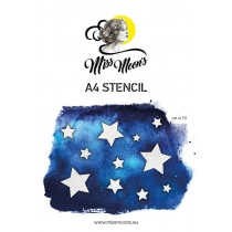 Šabloon Miss Moons A4  art111