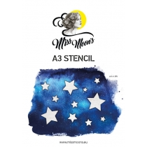 Šabloon Miss Moons A3  art215