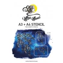 Šabloon Miss Moons A3+A4  art301