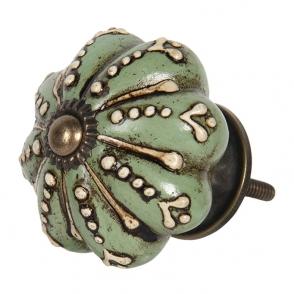 deurknop-o-4-cm-groen-keramiek-bloem-clayre-eef-64692.jpg