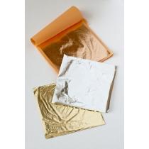 Metal Leaf Gold kuldamislehed 20tk (kuld)