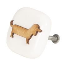 Kapinupp keraamiline koer
