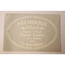 Ühekordne šabloon Patisserie 35x55
